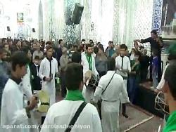 عزاداری هیئت سنج دمام  آل محمد(ص) در کاروان صادقیه1396