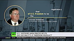 'It's not fracking, it's 'freedom gas': US Energy Department rebrands LNG to