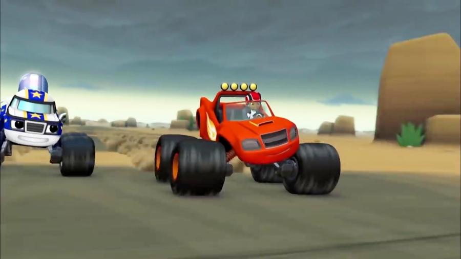 انیمیشن بلیز و ماشین های هیولا قسمت 9