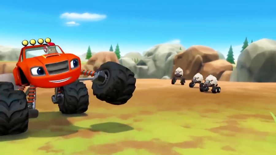 انیمیشن بلیز و ماشین های هیولا قسمت 41