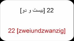 آموزش زبان آّلمانی به فارسی   Amuzesh almani   درس بیست ودو  مکالمه روزانه 3
