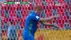 خلاصه بازی اوکراین ۴ - ۱ پاناما - مرحله یک شانزدهم نهایی جام جهانی جوانان ۲۰۱۹