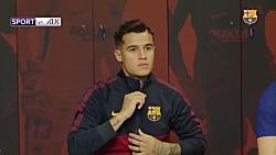 پشت صحنه رونمایی از پیراهن جدید بارسلونا