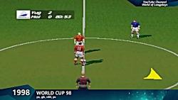 تاریخچه بازی fifa از 1993 تا 2018