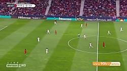 گل اول سوئیس به پرتغال (رودریگز - پنالتی)