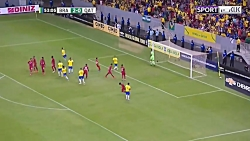 خلاصه بازی برزیل 2-0 قطر