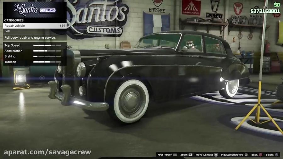 گرانترین ماشین کلاسیک در gta online - Stafford
