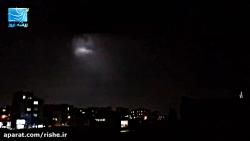 رعد و برق شدید و بی سابقه در تهران