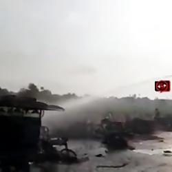 انفجار تانکر بنزین