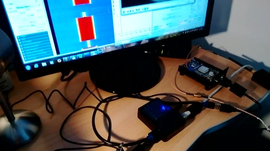 DVB-S/S2 transmitter with LIMESDR and ODROID XU4