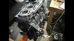 بازسازی موتور پورشه