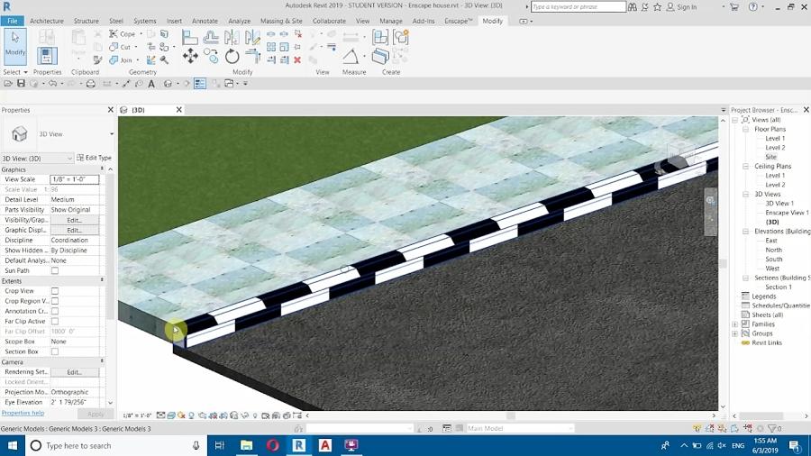 Creating Sidewalks and Curb/Kerb In Revit Tutorial [Updated]