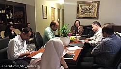 نشست خبری دکتر مهری مهر...