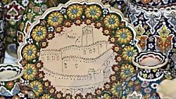 اولین نمایشگاه صنایع دستی بم در ارگ قدیم