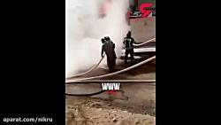 انفجار وحشتناک ماشین ق...