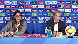 کنفرانس خبری بعد بازی  ...