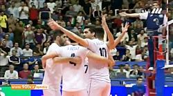خلاصه لیگ ملت های والیبال 2019: ایران 3-0 روسیه