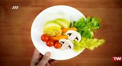 آموزش پخت آسان سوپ سیب زمینی