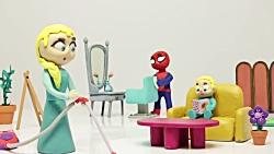 کارتون خمیری مرد عنکبو...