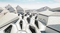 طراحی معماری مرکز تحقیقاتی کنترل نفت عربستان - شاهکار معماری