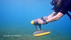 نخستین اسکوتر آبی جهان:...