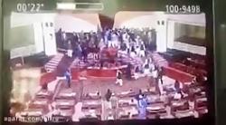درگیری در مجلس افغانستان بر سر کرسی ریاست