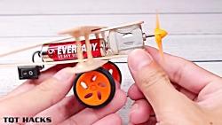 آموزش ساخت هواپیما با موتور Dc