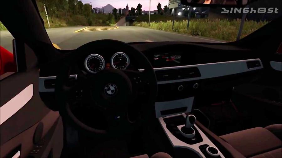 Скачать BMW M5 E60 для Euro Truck Simulator 2 - Cige
