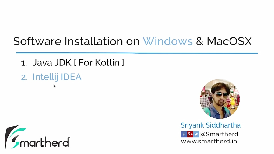 #1.2 Kotlin Setup for Windows: Installing INTELLIJ IDEA