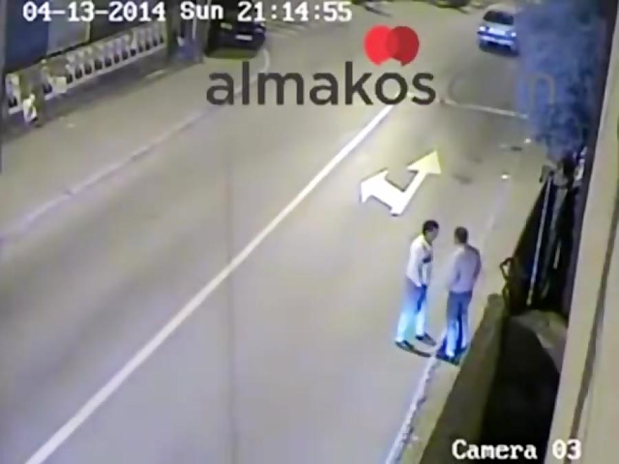 درگیری شدید خیابانی و حمله با ماشین در ترکیه