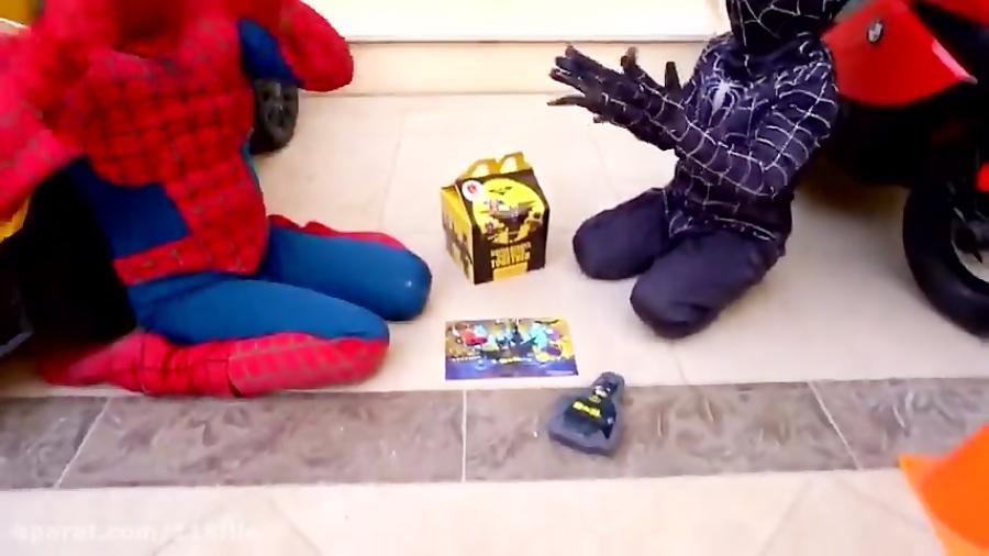 انیمیشین زیبای اسباب بازی های اسپایدر من و مرد عنکبوتی