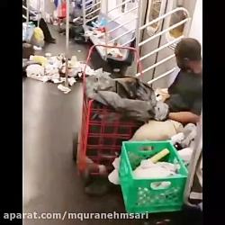صبح وقتی وارد مترو #نیو...