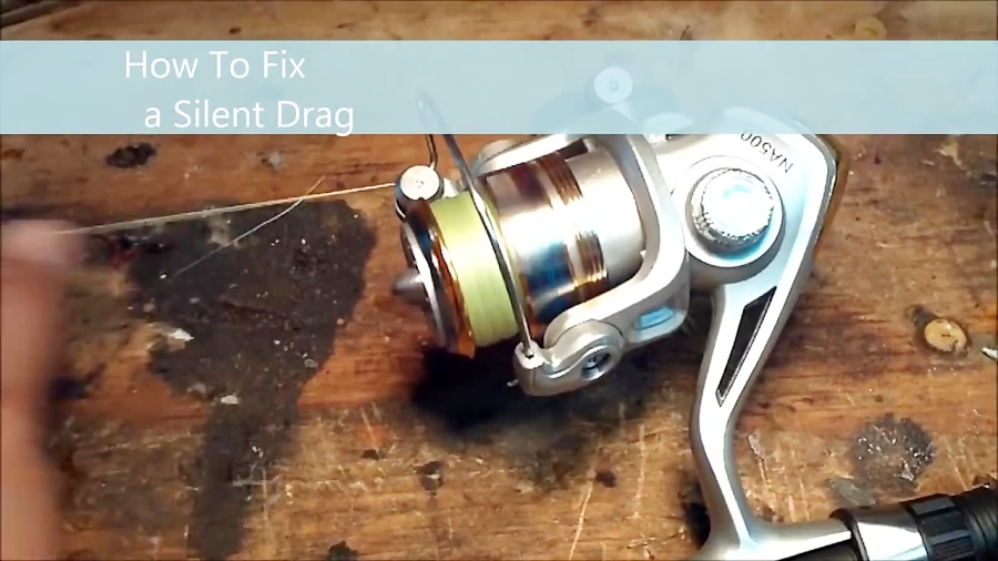 How to Fix a Silent Drag + Broken Bail Spring Hack (Spinning Reel Repair)