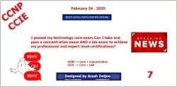 Cisco Next-Level Certification - Part 7