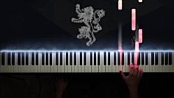 قطعه پیانو The Rains of Castamere...