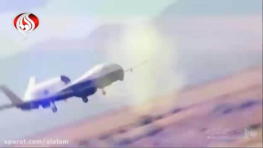 جزئیاتی از انهدام پهپاد جاسوسی آمریکا در خلیج فارس