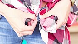 16 ترفند لباس و پوشاک با استفاده از لباس های کهنه و دورریختنی