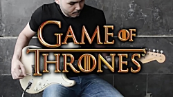 Game of Thrones Theme - Electric Guitar Co...