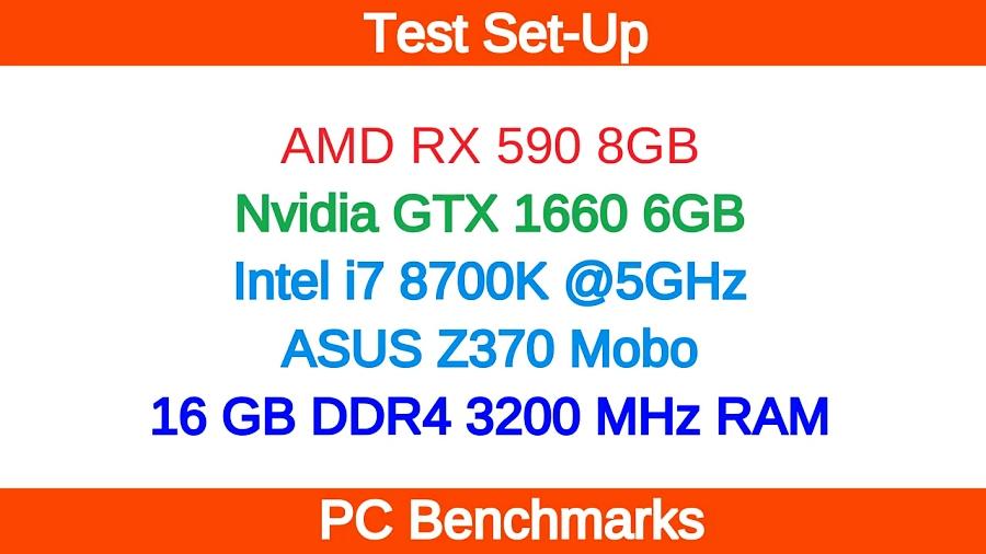 Nvidia GTX 1660 vs AMD RX 590 1440p Gaming