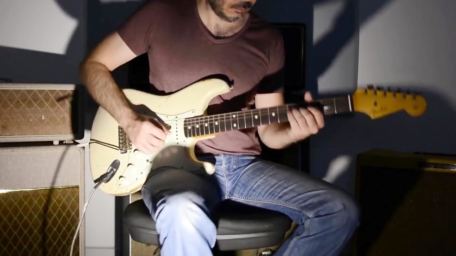 David Bowie - Space Oddity - Electric Guitar Cover by Kfir Ochaion