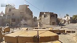 نبرد تانک های گوپرو در سوریه: هجوم تانک های ارتش سوریه در جوبر