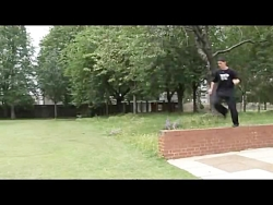 Learn Freerunning and Parkour - Side Flip