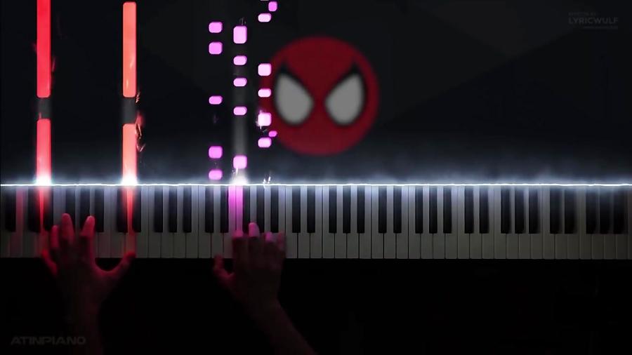 کاور پیانو Spiderman: A tribute