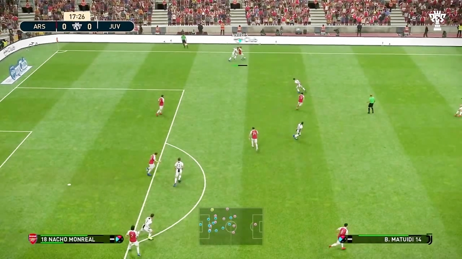 PES2019 Defend Tutorial - Teammate Support