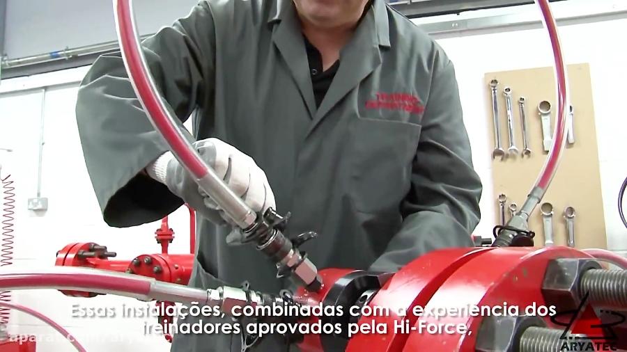 آشنایی با کمپانی پرسنل و ابزارآلات هیدرولیکی صنعتی کمپانی هایفورس انگلستان