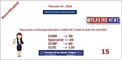 Cisco Next-Level Certification - Part 15