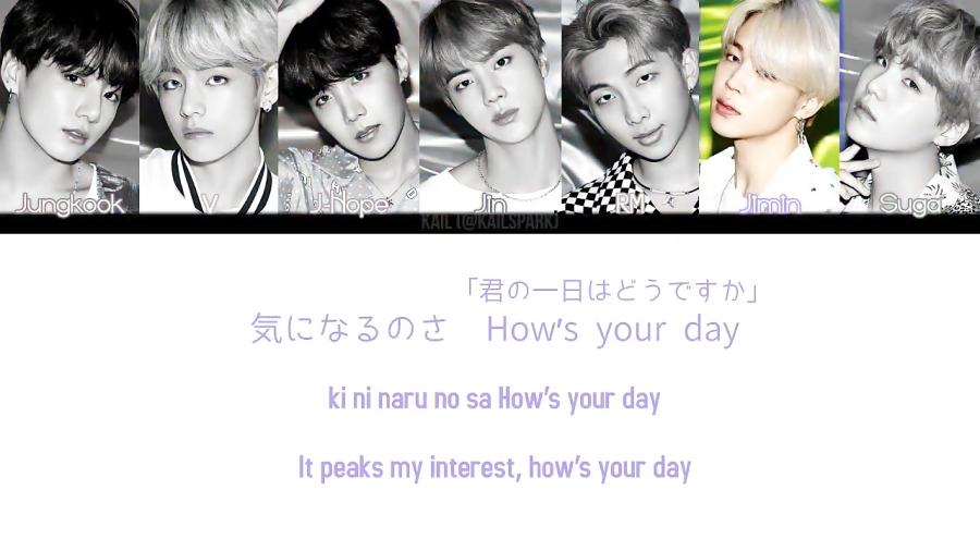 """لیریک """"boy with luv""""بی تی اس ورژن ژاپنی^^❤"""