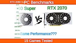 Nvidia RTX 2060 Super vs RTX 2070 Benchmarks