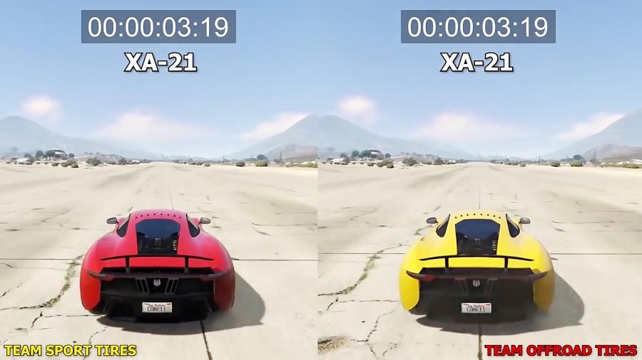 تست و رقابت ماشین های ویژه GTA 5  آنلاین  (GTA 5 ONLINE)