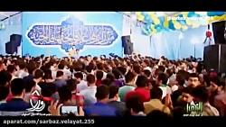 مولودی شور فوق العاده کربلایی امیر برومند در کنار محسن عراقی - ولادت حضرت معصومه